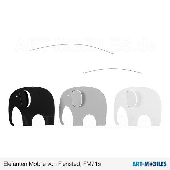 Elefanten Mobile Flensted Mobiles FM71 Dänemark