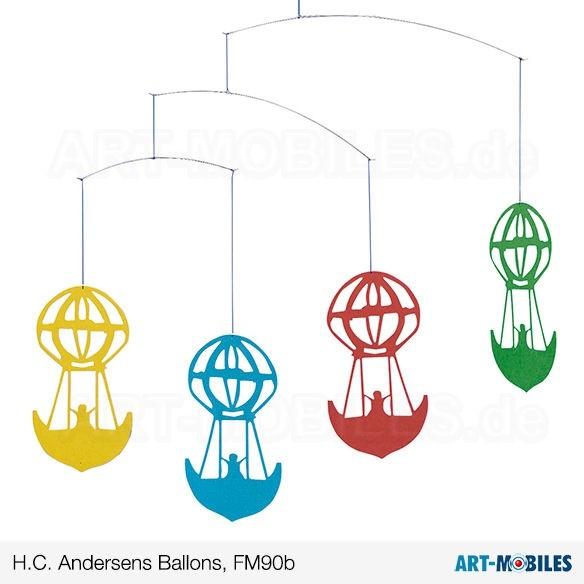 H.C. Andersens Ballons bunt farbig FM90B Flensted