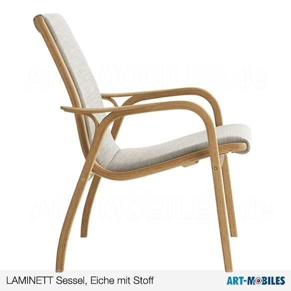 Laminett Sessel mit Fell Swedese