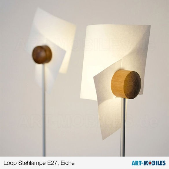 Loop Stehleuchte - Domus Licht - Schirm Lunopal