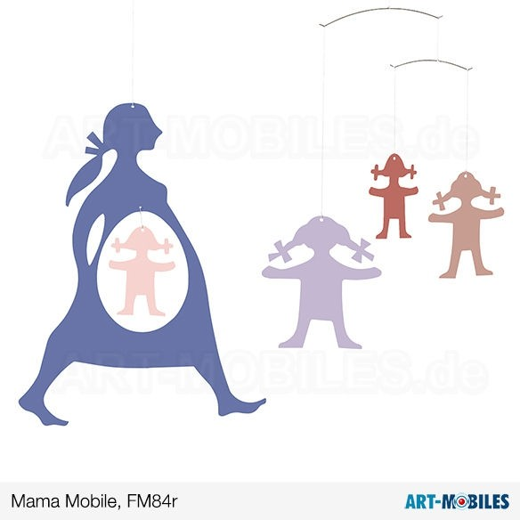 Mama Flensted Mobiles FM84 gruen Expecting Mother