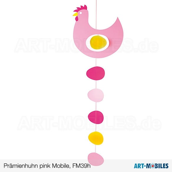 Prämienhuhn, gelb FM39g Flensted Mobiles