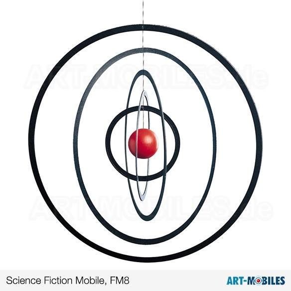 Science Fiction FM8 Flensted Mobiles Kugel rot