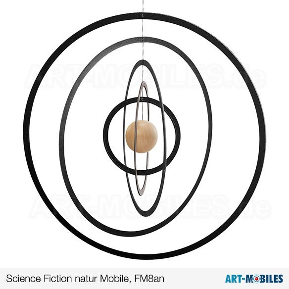Science Fiction FM8 Flensted Mobiles Kugel rot