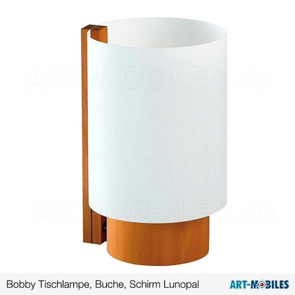 Bobby Tischlampe Buche 7311.7208 Domus