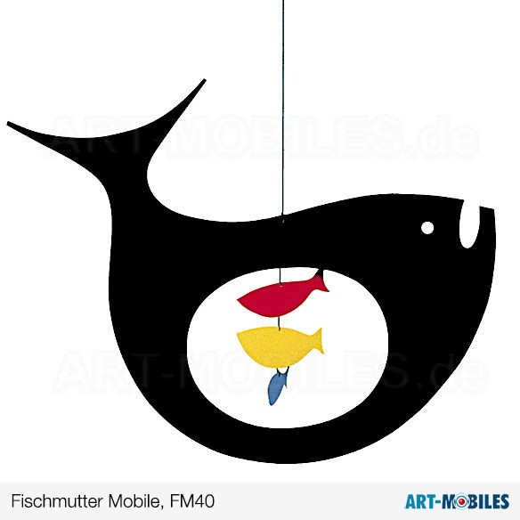 Fischmutter FM40 Flensted Mobiles Expecting Fish