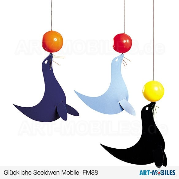 Glückliche Seelöwen FM88 Flensted Mobiles Happy Sealions
