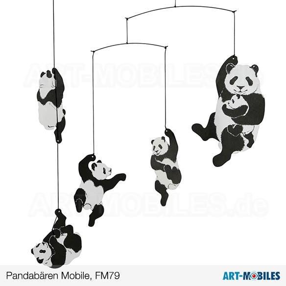 Pandamobile FM 79 Flensted Mobiles Pandabären