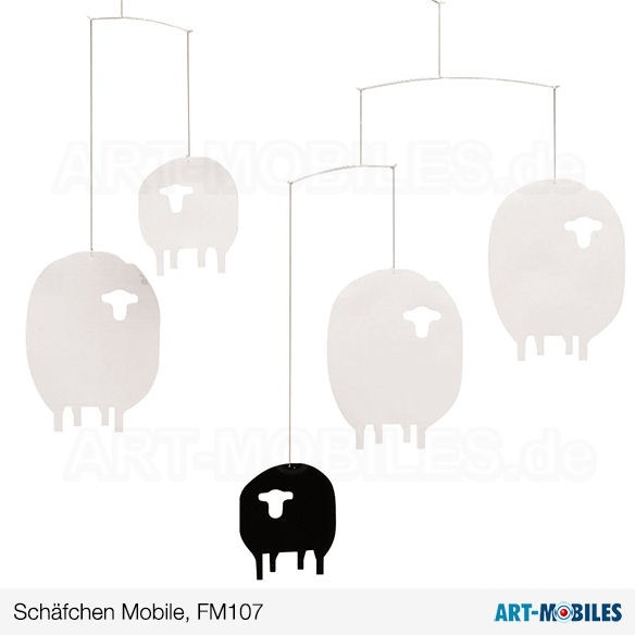 Schäfchen Mobile FM107 Flensted Mobiles Sheep mobile