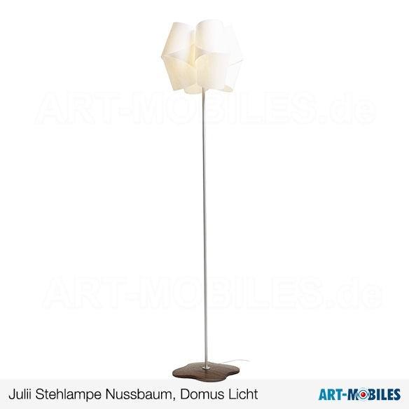 Julii Stehlampe - Domus Licht - Nussbaum