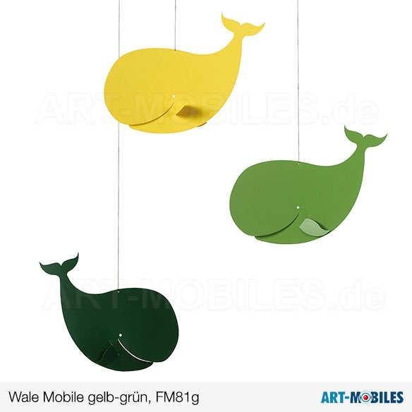 Wale FM81G gelb-grün Flensted Mobiles