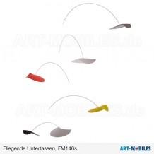 Fliegende Untertassen FM 146s bunt Flensted Mobiles