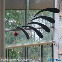 Flowing Rhythm FM005R in 2 Größen im Trapholt-Museum