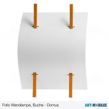 Folio Wandlampe 5320.1008 Domus Licht