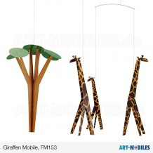 Giraffen-Mobile FM153 Flensted Mobiles  Giraffes on the Savannah