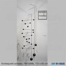 Kontrapunkt XL in Schwarz FM154Ms ,110x60cm, maxi