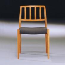 Möller Stuhl No. 83 Teak mit Bezug - Møller