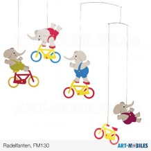 Radelfanten FM130 Flensted Mobiles Cyclephants