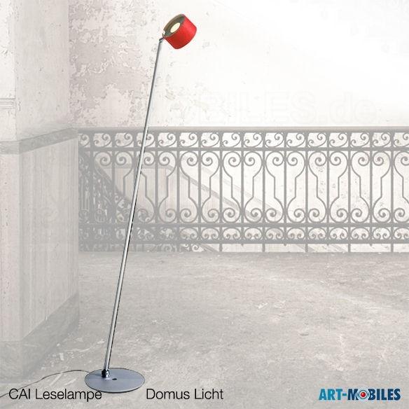 CAI Leseleuchte Wollfilz rot - Domus 6888.113