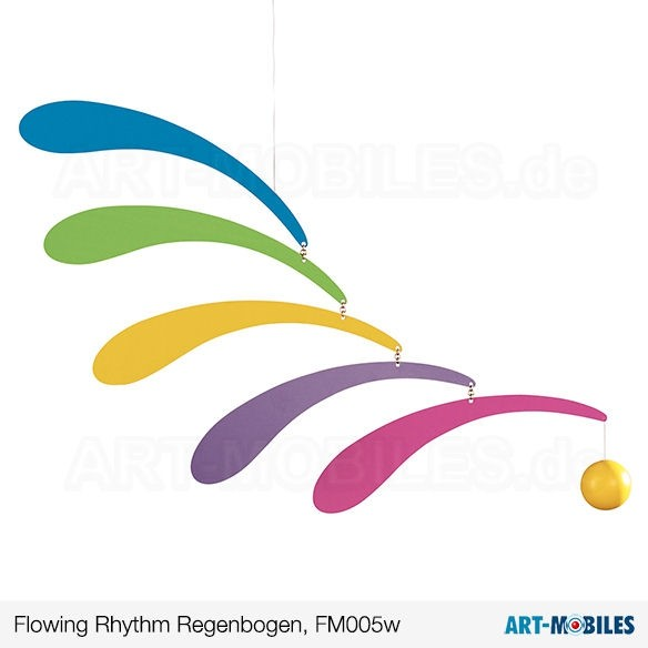 FM-5R-Flowing Rhythm rot Flensted Mobiles