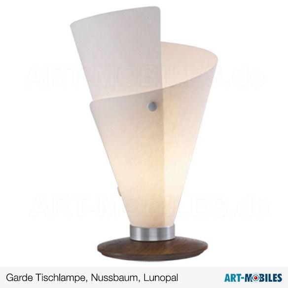 Garde Tischlampe Nussbaum 7152.6308 Lunopal Domus