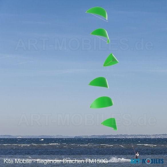 Kite fliegender Drachen von Flensted Mobiles