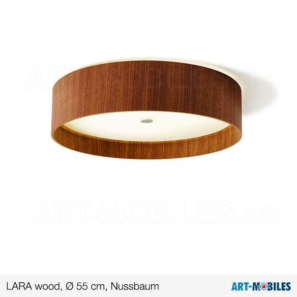 LARAwood Deckenlampe Weißeiche Ø 55 cm