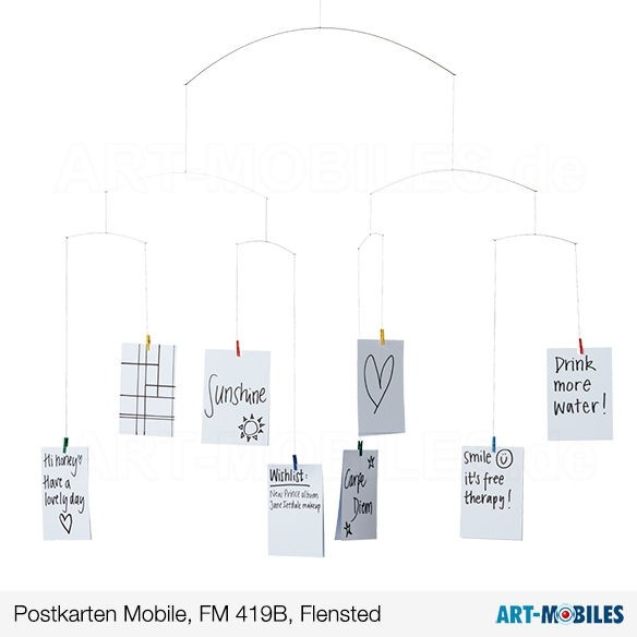 Postkarten-Mobile 4, FM419 Flensted Mobiles