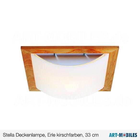 Stella Deckenleuchte Erle Kirshfarben 40/41 cm