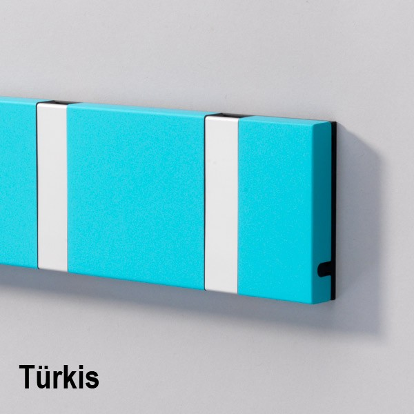 Loca Knax Türkis 6 Haken silber