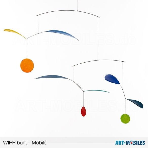 Wipp Mobilé blau, Annette Rawe
