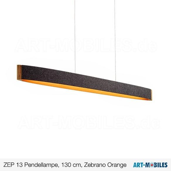 Zep Pendelleuchte Holz Zebrano 1927-74 Domus Licht