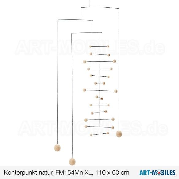 Kontrapunkt natur- XL large FM154Mn flensted-mobiles 110x60cm