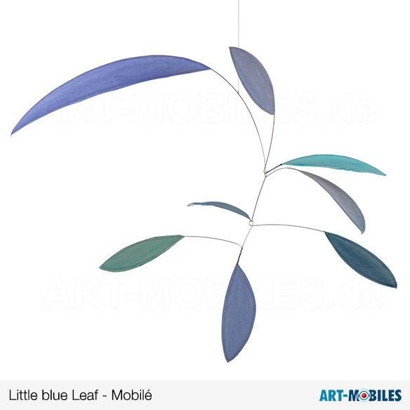 Little Leaf Mobilé blue, Annette Rawe
