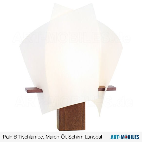 Paln B Tischlampe Maron-Öl 7234.3508 Domus