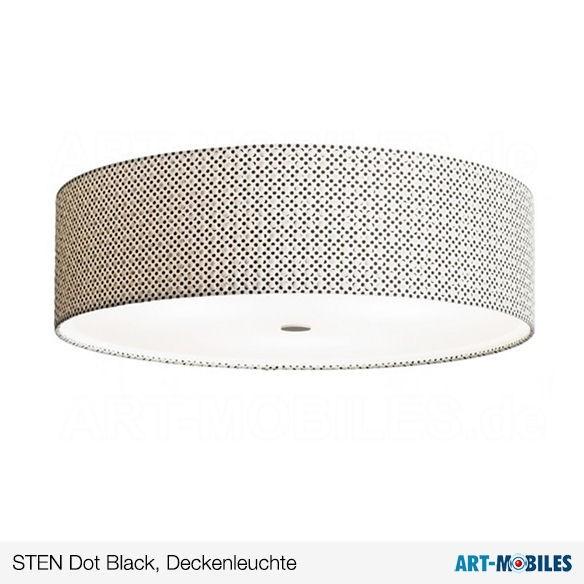 Sten Dot Black Deckenleuchte Domus