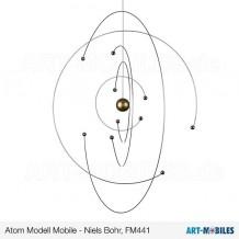 Niels Bohr Atom Mobiles FM441 Flensted Dänemark