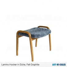 Lamino Hocker Eiche, Fell Graphite