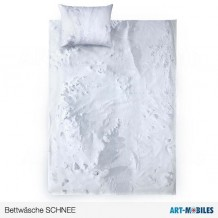 Schnee-Bettwäsche