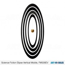 Science Fiction Ellipse Vertikal, Flensted Mobiles, FM008EV