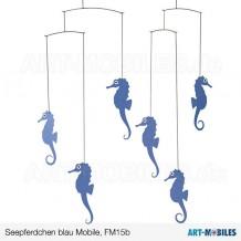 Seepferdchen FM15B blau Flensted-Mobiles-seahorsesmobile