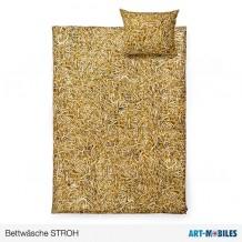 Stroh-Bettwäsche