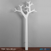 Baumgarderobe Tree, Swedese weiss