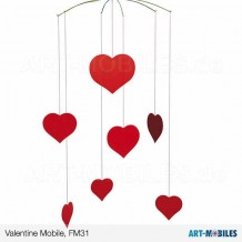 Valentine Happy Hearts FM31 Flensted Mobiles