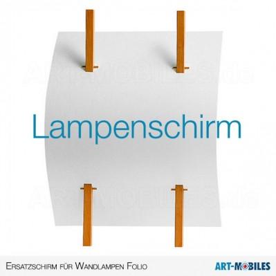 Lampenschirm Folio Wandleuchte