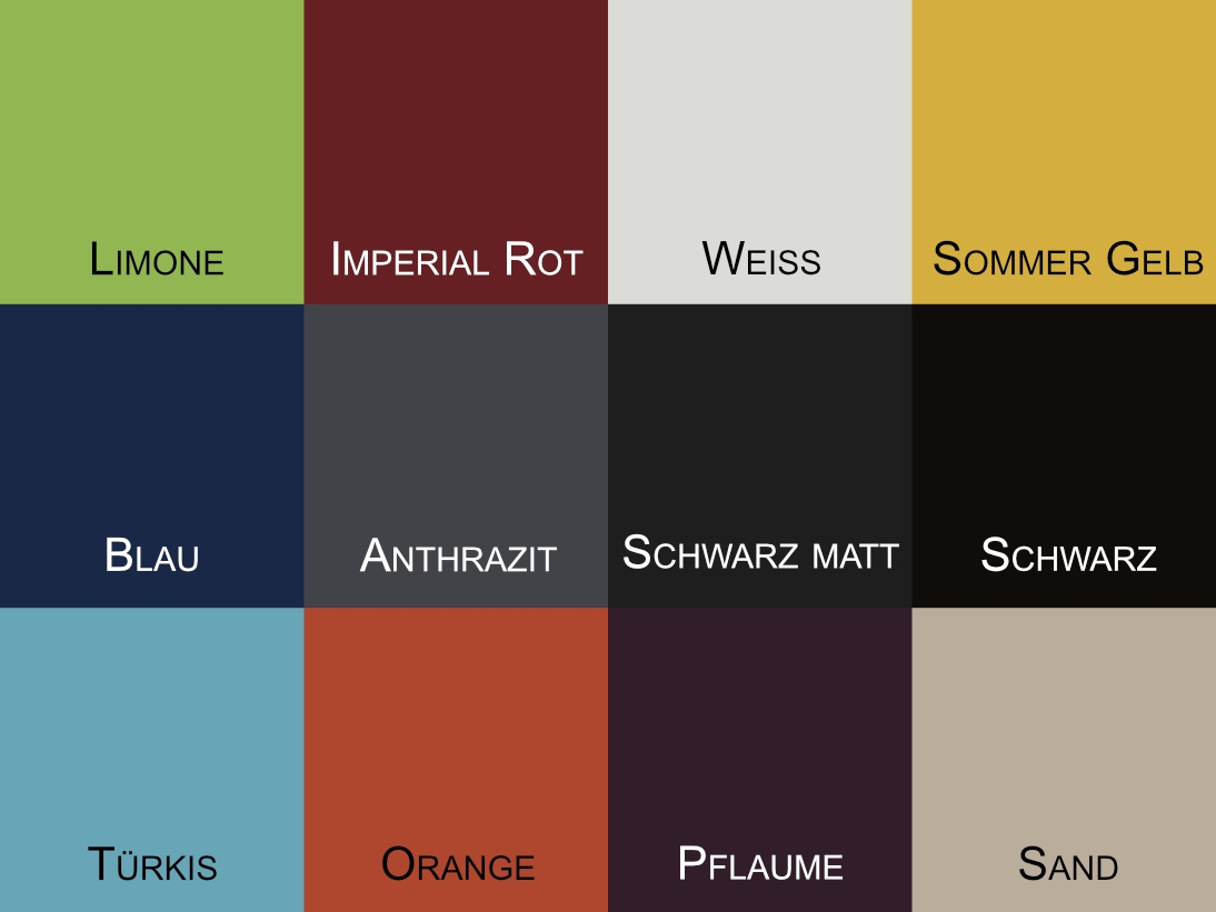 Loca Garderoben Farbmuster